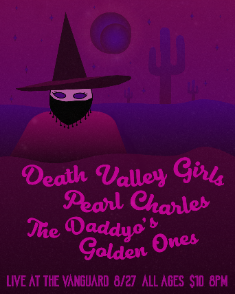 Death Valley Girls // Pearl Charles