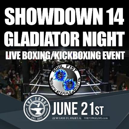 Showdown 14 Gladiator Night