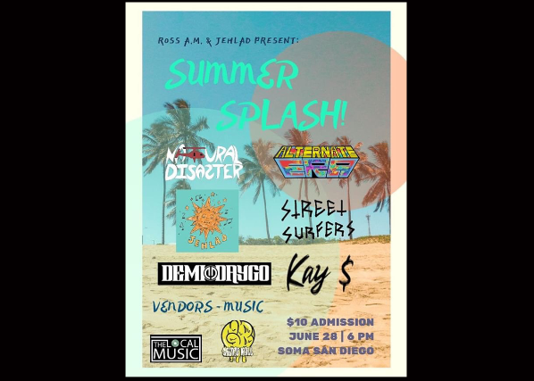 Ross A.M. and Jehlad Present: Summer Splash