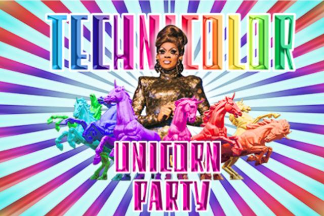 Technicolor Unicorn Party: Official Central Coast Pride Party