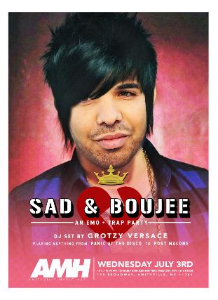 Sad & Boujee: An Emo + Trap Party