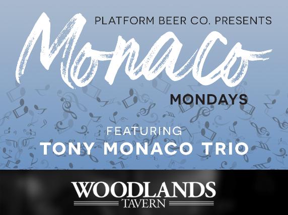 Monaco Monday featuring Tony Monaco Trio presented by Platform Beer Co.