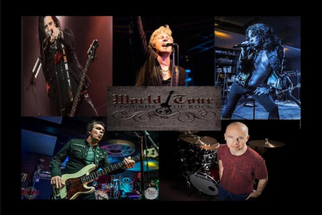 World Tour-Legends of Rock at Mozambique