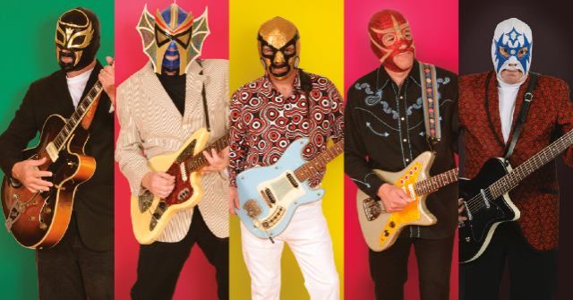 Los Straitjackets wsg The Concussions