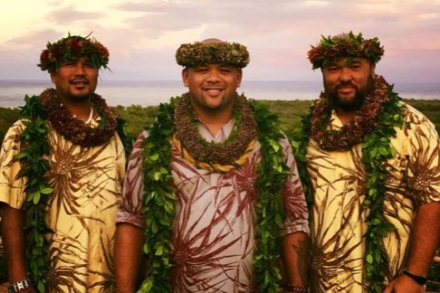 Kuana Torres Kahele Band With Hālau Nāpua'ihilaumāewa