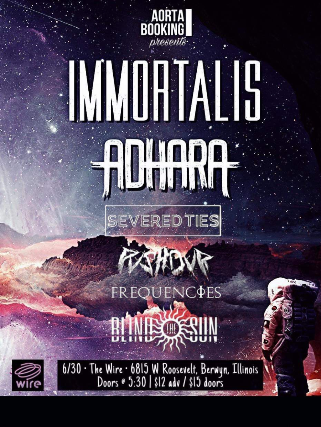 Immortalis & Adhara @ Wire