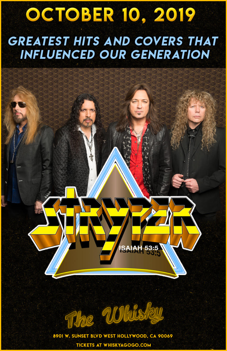 Stryper, Worldview, T Clemente Band, The Sky Club, Still Cross