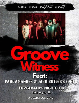 Groove Witness, Jack Butler's Jones, Paul Amandes