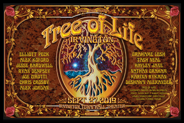 Tree Of Life Benefit ft. Elliott Peck, Grahame Lesh, Alex Koford, Tash Neal, Jesse Bardwell, Nathan Graham, Hayley Jane, Ryan Dempsey, Karina Rykman, Joe Cirotti, Alex Jordan & Chris Crosby