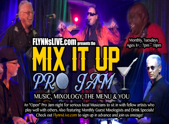 Locals Night Mix It Up: Pro Jam Music, Mixology, the Menu and You! 6:3