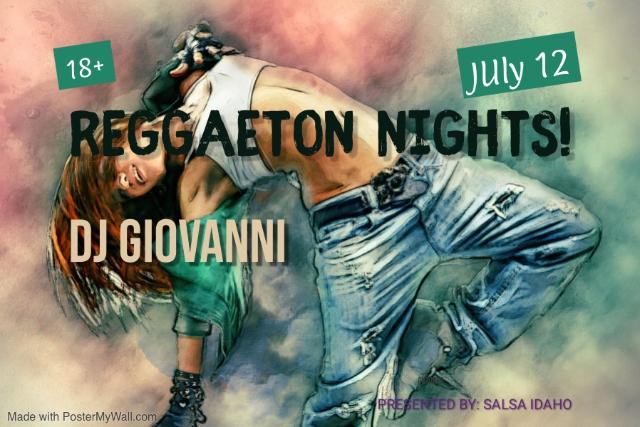 Reggaeton Nights!
