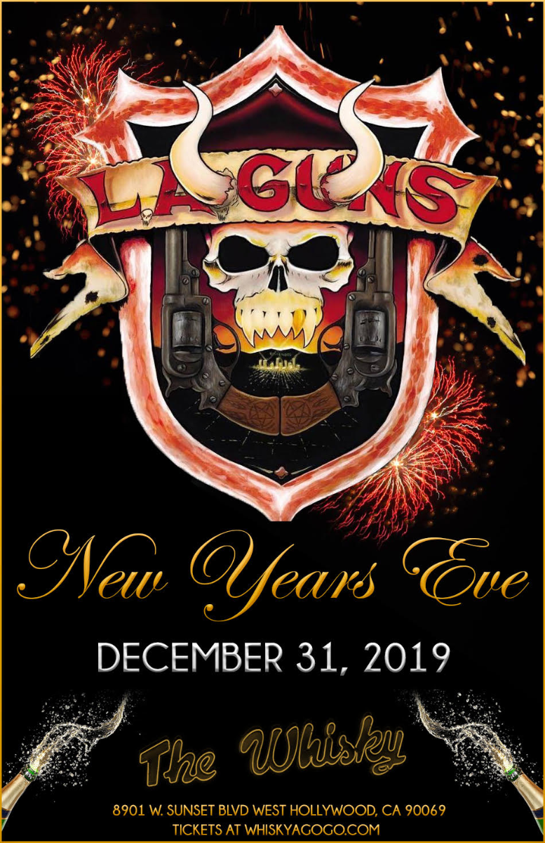 L.A. Guns, Venrez, Lowside, Motorsickle, Black Star Sinners