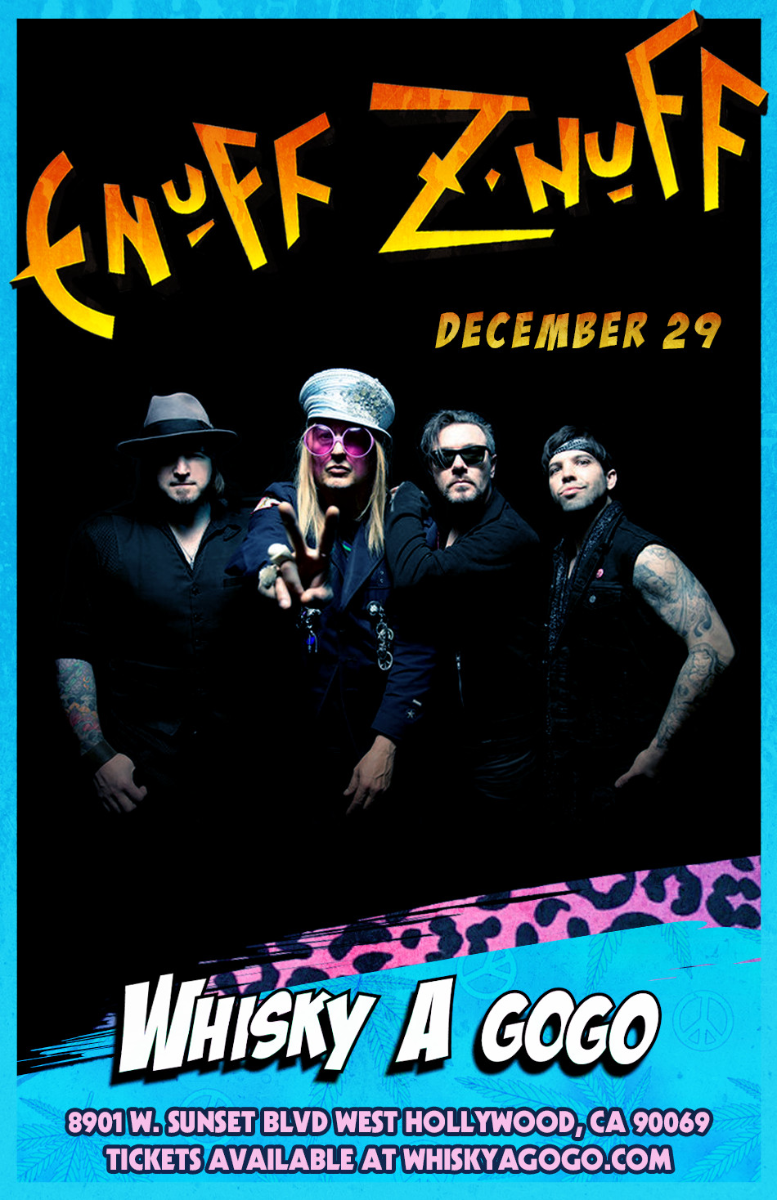 Enuff z Nuff, Death Valley Gypsies, Angeles, Prima Donna Rising, Temple Monarc, Decapitation of a New Day, Bound Within