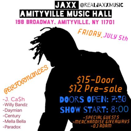 Jaxx, J. Ca$h, Willy Bandz, Daymain, Century, Mella Bella, Paradox