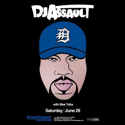 DJ Assault at Grasshopper Underground