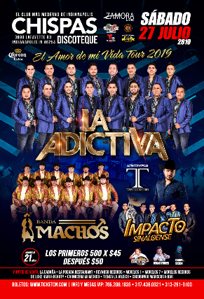 EL AMOR DE MI VIDA TOUR 2019