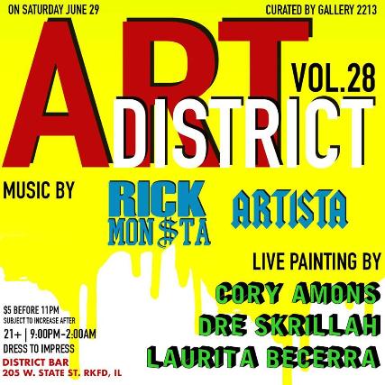 ART DISTRICT VOL. 28