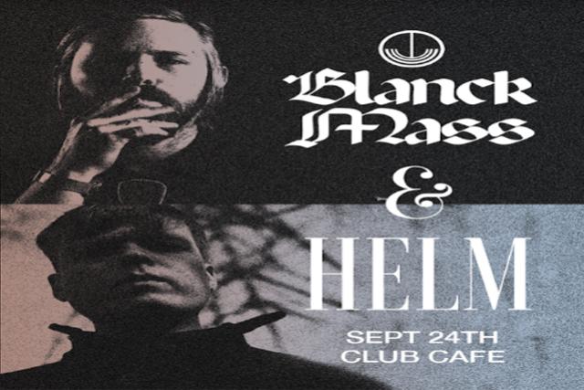 Blanck Mass + Helm with Special Guest Steve Hauschildt