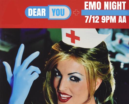 DEAR YOU: EMO NIGHT at Strummer's