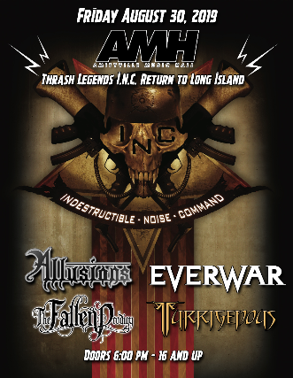 Indestructible Noise Command, Allusions, Everwar, The Fallen Prodigy, Turrigenous