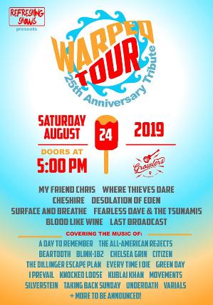 Warped Tour 25th Anniversary Tribute