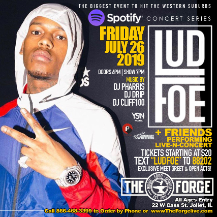 Spotify Presents Lud Foe and Friends
