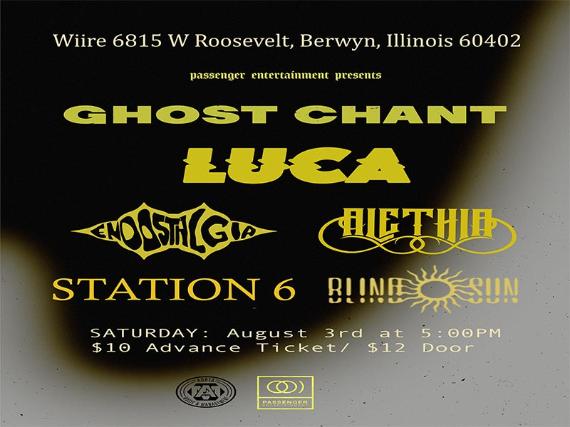 Alethia // Endostalgia // Ghost Chant // Station 6 // Blind The Sun