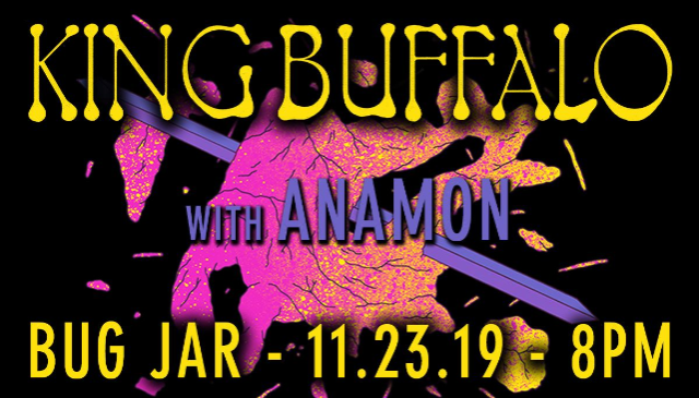KING BUFFALO // ANAMON
