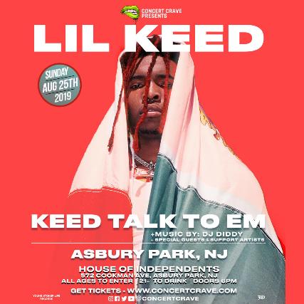 LIL KEED Performing Live! - Asbury Park, NJ