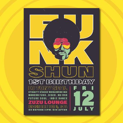 The FunkShun | Future Soul & Modern Funk Night – 1 Year