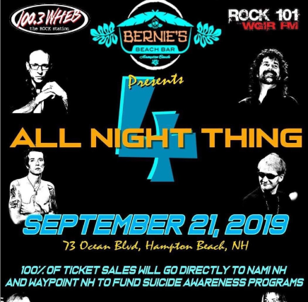 Rock 101 and WHEB Presents: All Night Thing 4