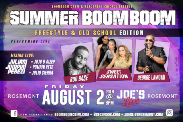 Summer Boom Boom 2019 - 'Freestyle & Old School' Edition