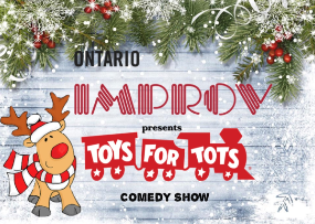 Toys for Tots Comedy Show
