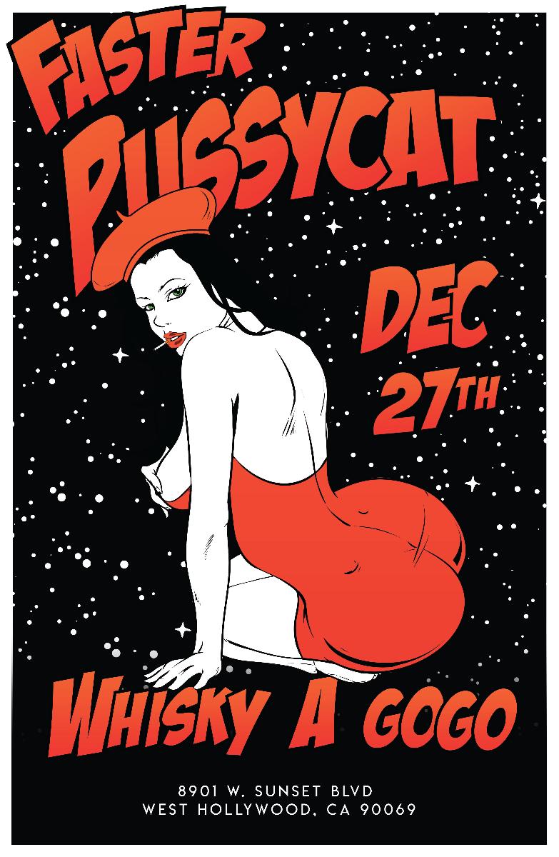 Faster Pussycat, Jimmy Richardson, Motorbone, The Thrill Seekers, Stormbreaker