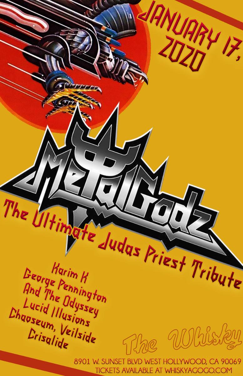 Metal Godz (A Tribute to Judas Priest),  Karim K, George Pennington And The Odyssey , Lucid Illusions, Chaoseum