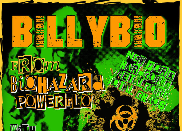 BILLYBIO of BIOHAZARD & POWERFLO plus Cutthroat and Aggressive Dogs (Japan), Way Off Starboard