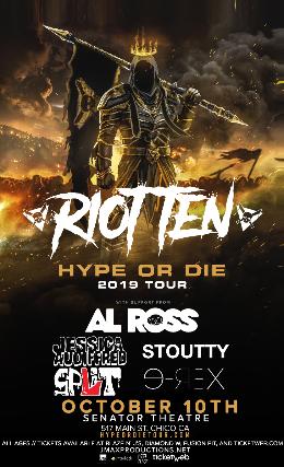 Riot Ten, Al Ross, Jessica Audiffred, Stoutty, Split