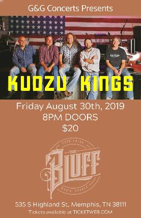 G & G Concerts Presents Kudzu Kings