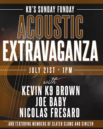 Kevin K9 Brown, Joe Baby, Nicolas Fresard