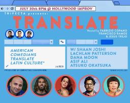 Translate w/ Francisco Ramos, Jesus Trejo, and Fabrizio Copano!