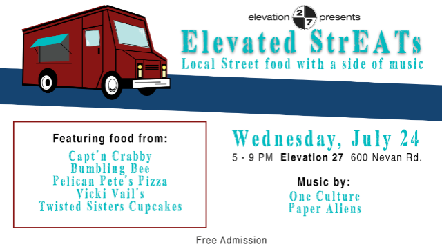 Elevated StrEATs at Elevation 27