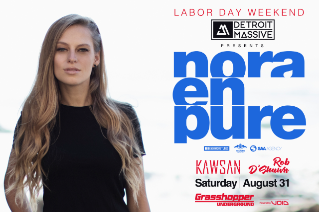 Nora En Pure at Grasshopper Underground