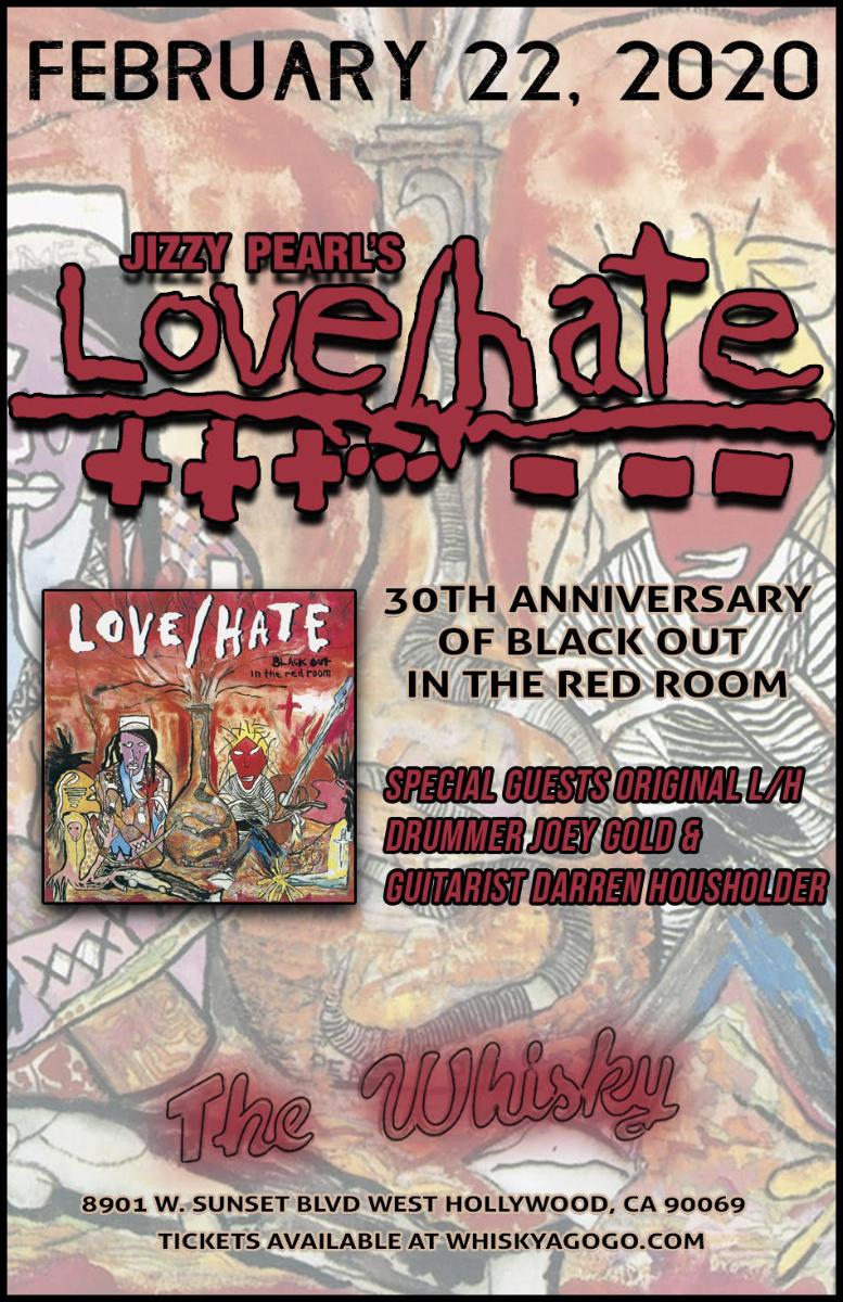 Jizzy Pearl's Love/Hate, Tennessee Werewolves, Black Star Sinners