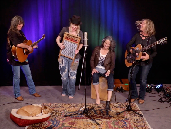 Duo Quartet featuring Nina Gerber, Chris Webster, Pamela Delgado and Jeri Jones (of Blame Sally)