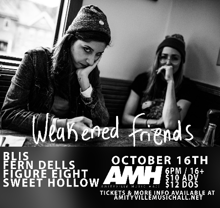 Weakened Friends, Blis, Fern Dells, Figure Eight, Sweet Hollow