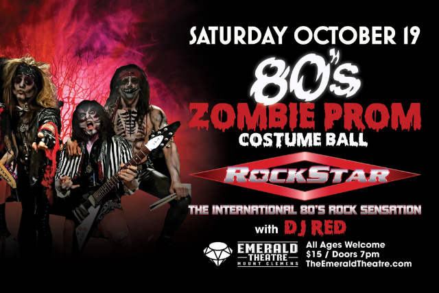 80s Zombie Prom & Costume Ball