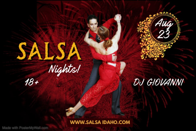 Salsa Nights! at Knitting Factory Concert House - Boise
