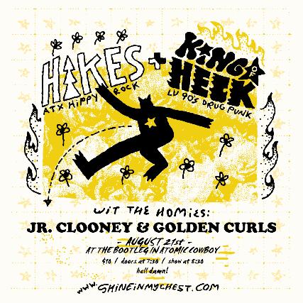 Hikes//Jr.Clooney//Golden Curls//King of Heck