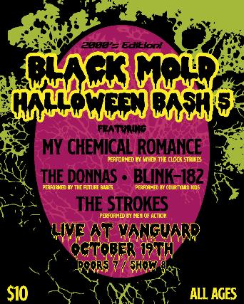 Black Mold Halloween Bash 5 at The Vanguard