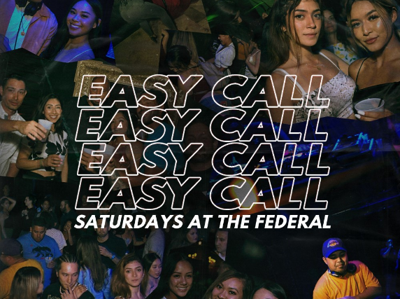 EasyCall at The Federal Underground